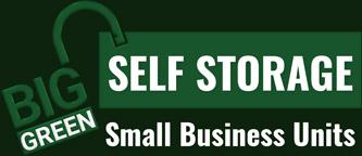 Big Green Self Storage Small Business Units